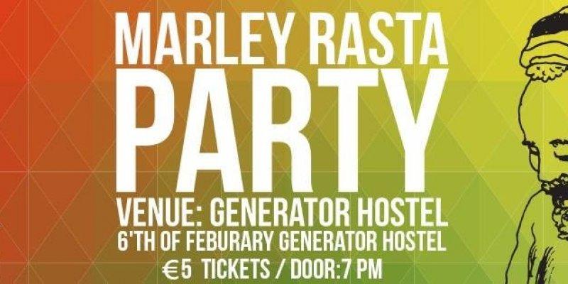 Już dzisiaj:Marley Rasta Party. Zapraszamy do Dublina na 70 urodziny Boba Marleya.