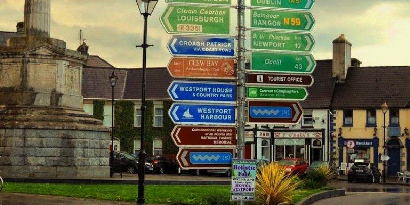 15 najlepszych miejsowości turystycznych w Irlandii