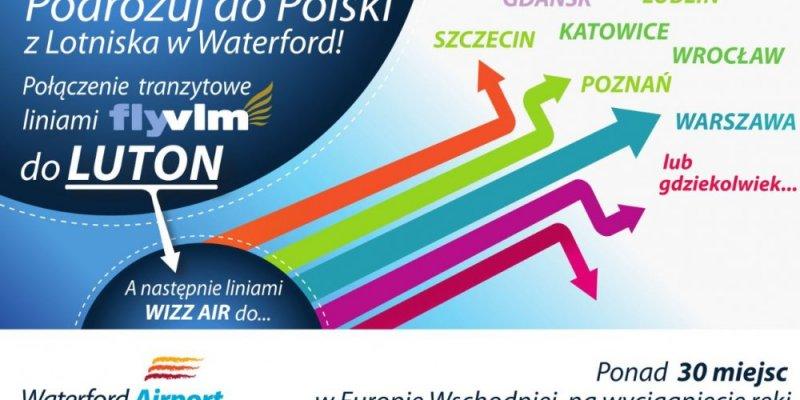 Lataj z Waterford do Polski