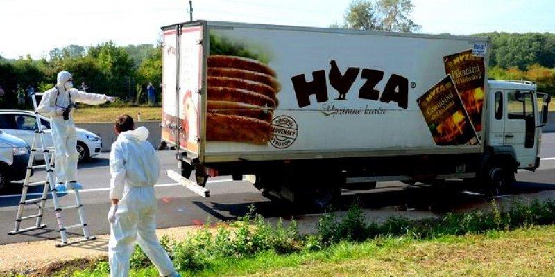 Austria: 50 martwych uchodźców w ciężarówce