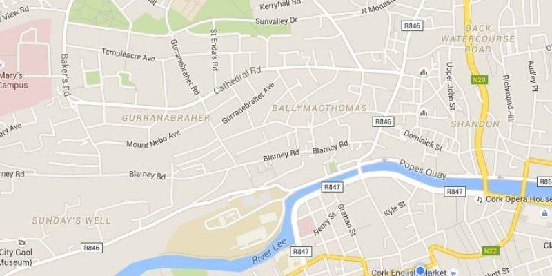Nawigacja w google mapach offline