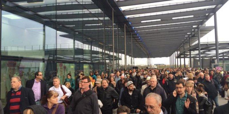 Ewakuacja lotniska w Londynie