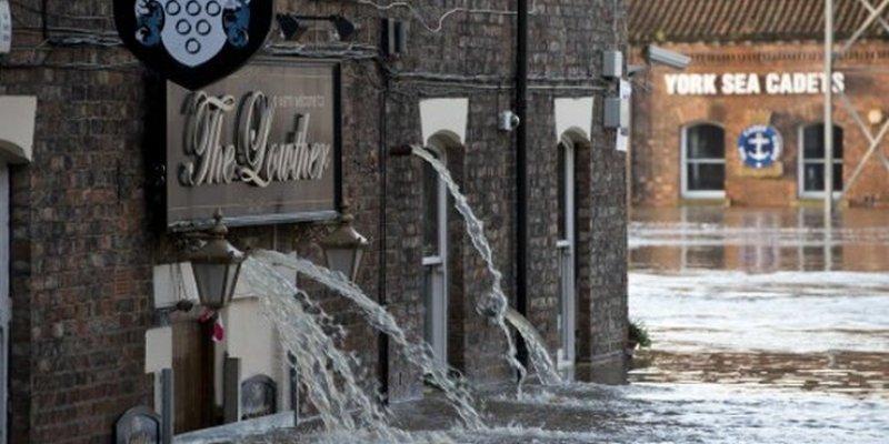 Powódź na Wyspach