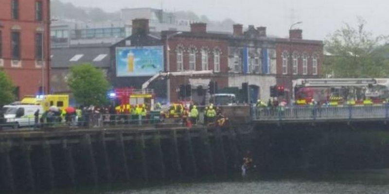 Dziecko wpadło do rzeki w centrum Cork