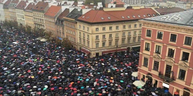 Czarny protest polskich kobiet