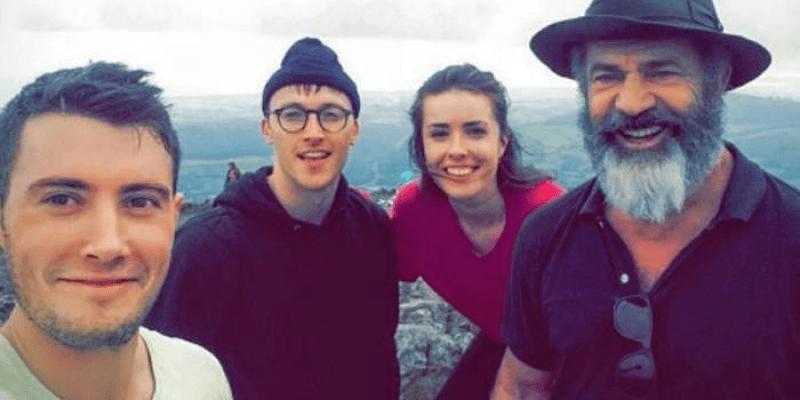 Mel Gibson w irlandzkich górach