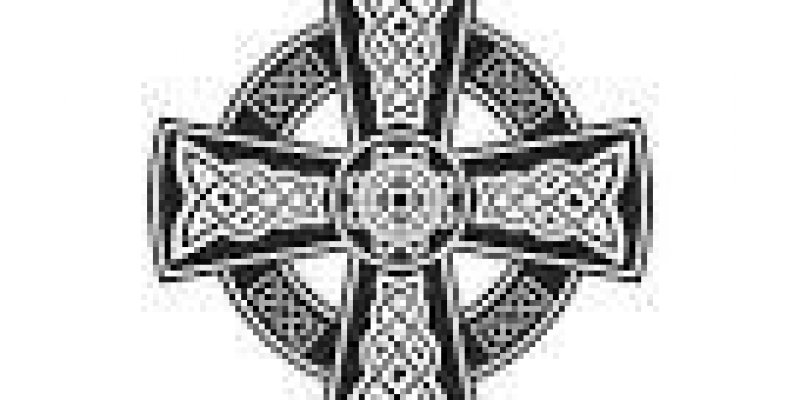 Odkryto krzyż celtycki widoczny tylko z lotu ptaka