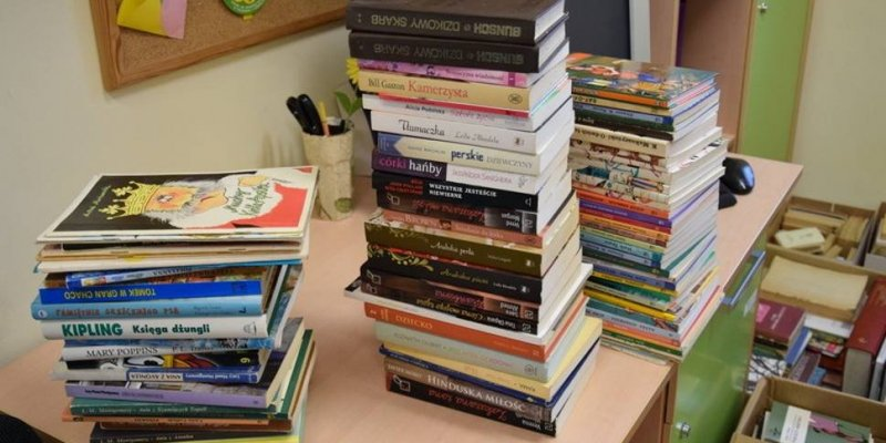 Książki z Malborka dla polskiej szkoły w Irlandii