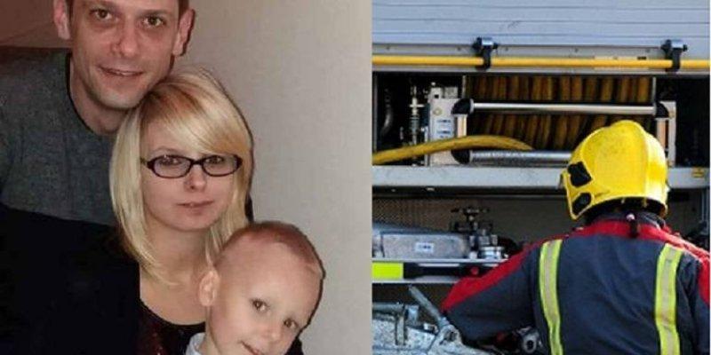 Polska rodzina straciła dom i dobytek w pożarze