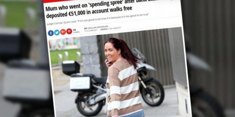 Bank omyłkowo wypłacił 51 tys. euro. Kobieta pieniądze wydała, ale sąd ją uniewinnił