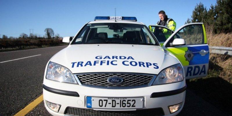 Garda skontroluje prędkość kierowców