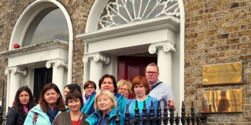 Nauczyciele z Czechowic na kursie w Irlandii
