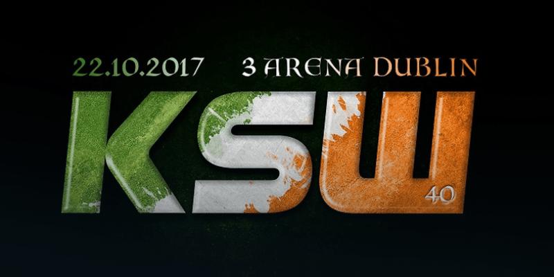 W październiku gala KSW w Dublinie