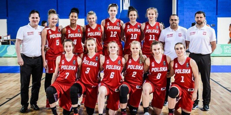 Trzecia wygrana polskich koszykarek