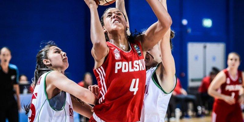 Pierwsza porażka polskich koszykarek