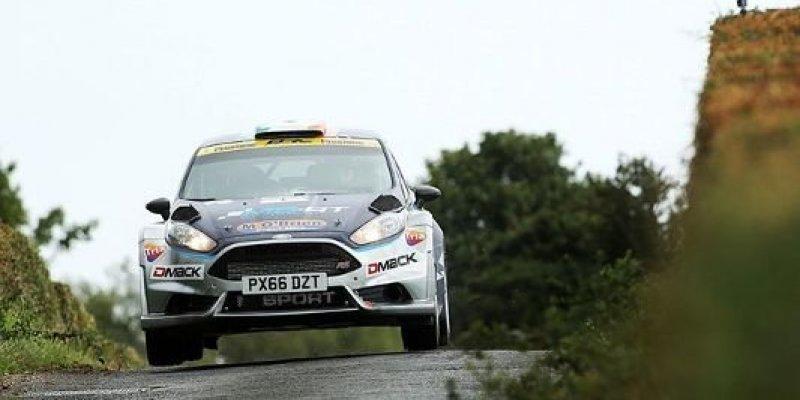 Irlandzki kierowca walczy o tytuł w rajdach