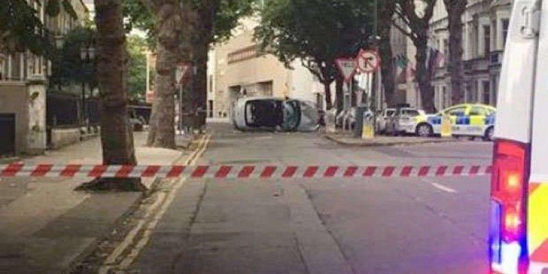 Samochód wjechał w grupę mieszkańców Dublina