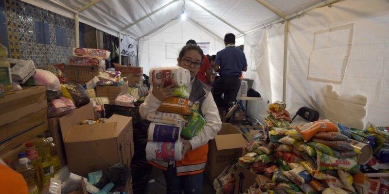 90 ofiar trzęsienia w Meksyku