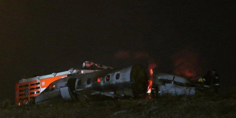 Samolot rozbił się na lotnisku w Stambule