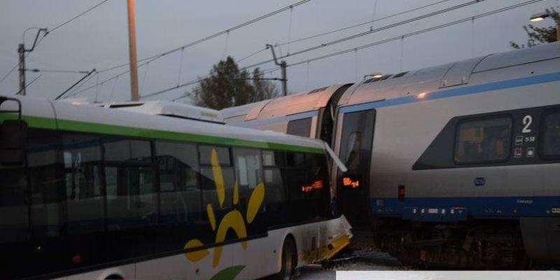 Zderzenie Pendolino z autobusem