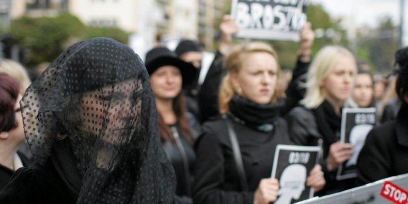 Czarny wtorek znowu na polskich ulicach