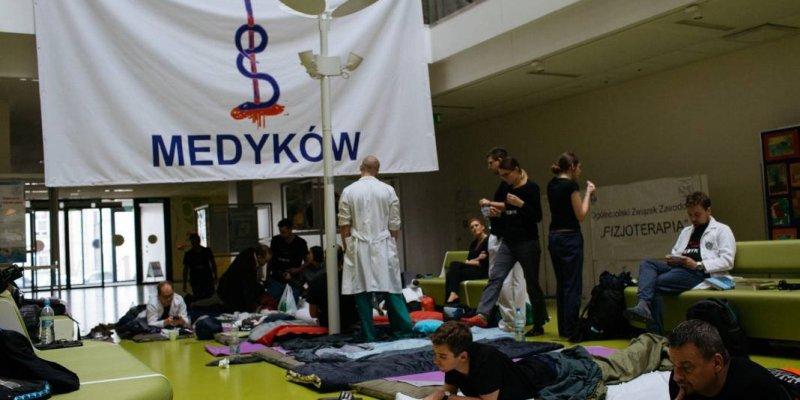 Trwa strajk lekarzy rezydentów