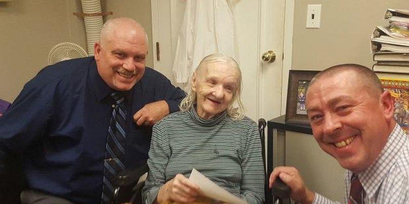 Kobieta odnalazła się po 42 latach