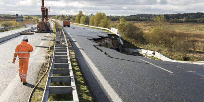 Autostrada A20 zamknięta w całości