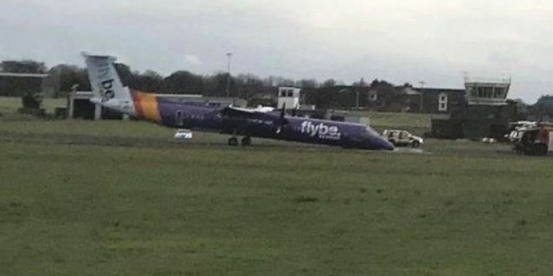 Samolot wylądował w Belfaście bez koła