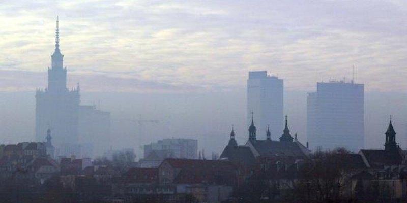 Zły stan powietrza nad całą Polską