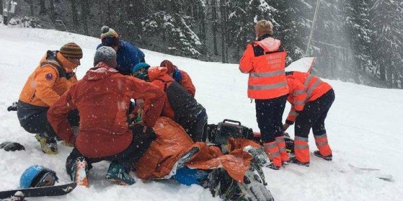 Śmierć polskiego narciarza na Słowacji