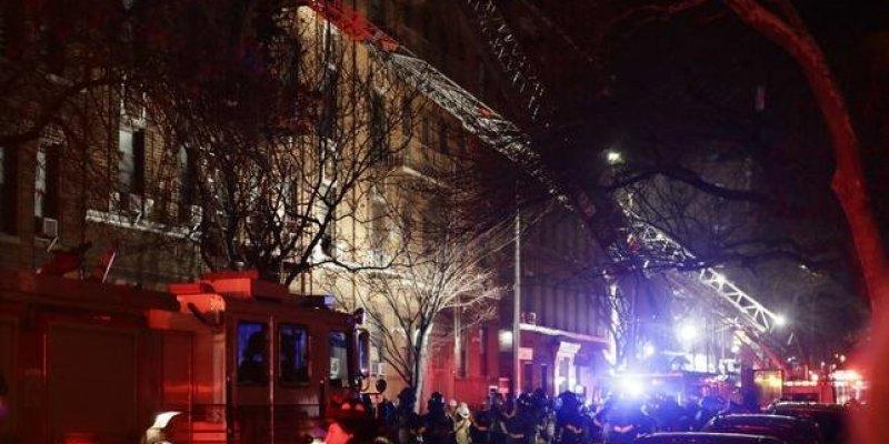 12 ofiar pożaru w Nowym Jorku