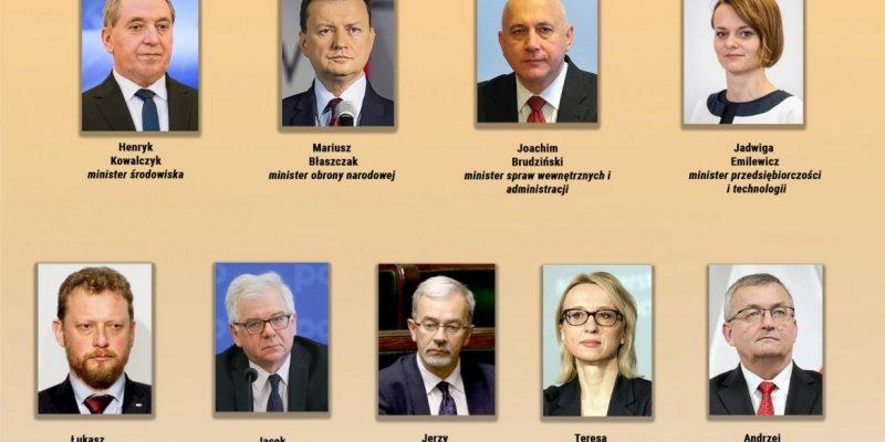Macierewicz nie jest już ministrem, duże zmiany w polskim rządzie