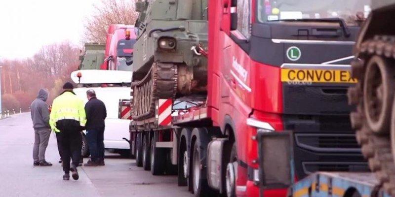 Niemcy zatrzymali polskie czołgi