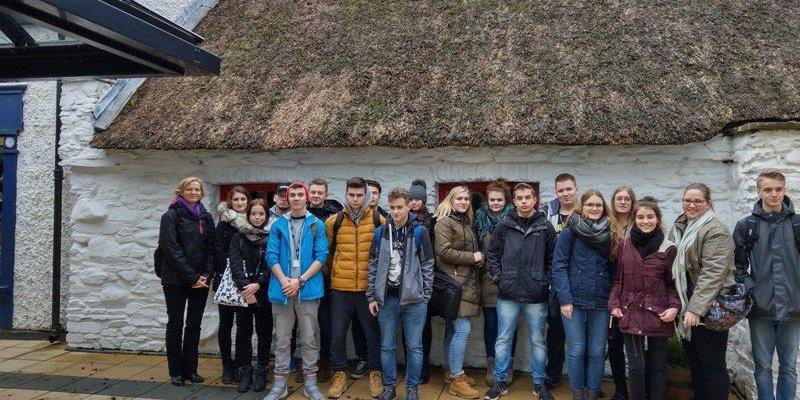 Uczniowie z Żukowa zdobywali doświadczenie w Irlandii Płn.