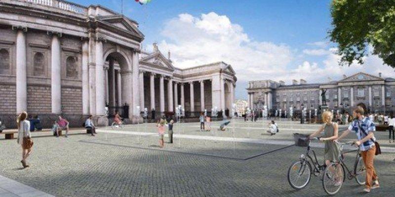 College Green Plaza będzie główną przestrzenią publiczną Dublina