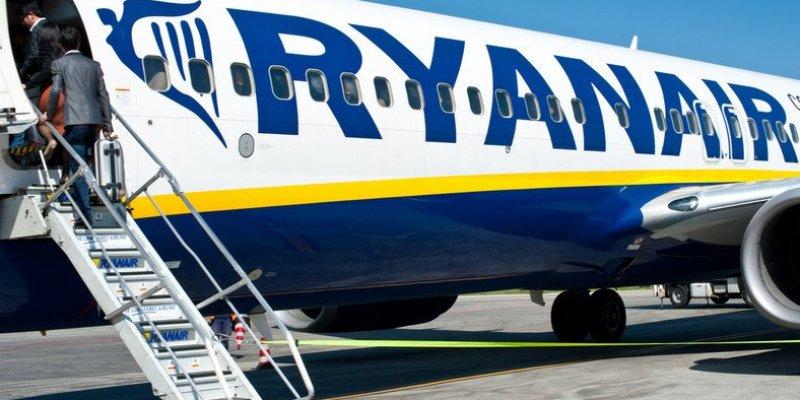 Samolot zawadził skrzydłem o maszynę Ryanair