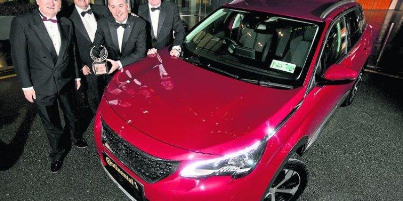 Peugeot samochodem roku w Irlandii