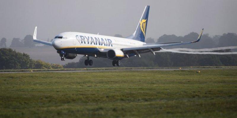 Awaryjnie lądowanie samolotu z Dublina