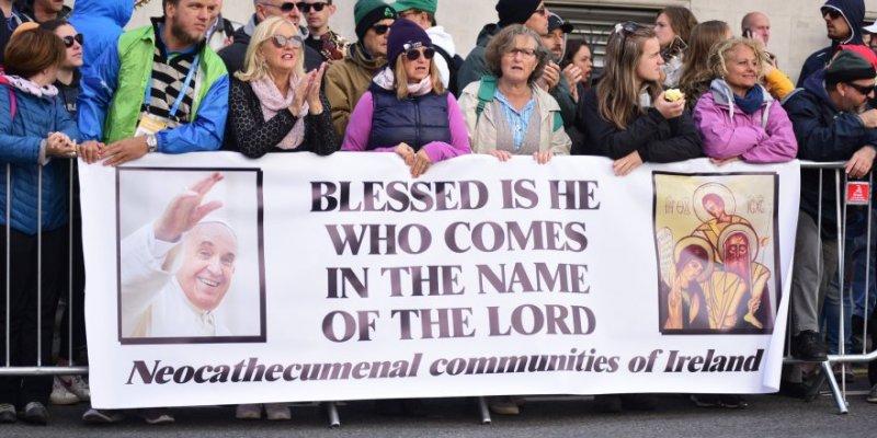 Franciszek modlił się za ofiary pedofilii
