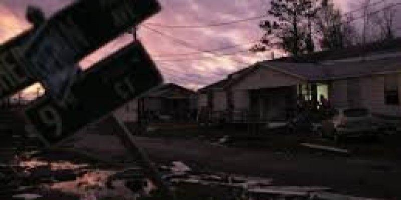 Huragan Callum - tysiące irlandzkich domów bez prądu