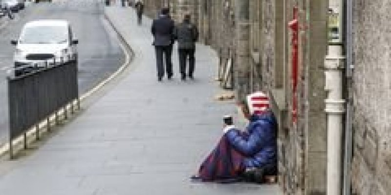 46 żebraków aresztowano w Dublinie