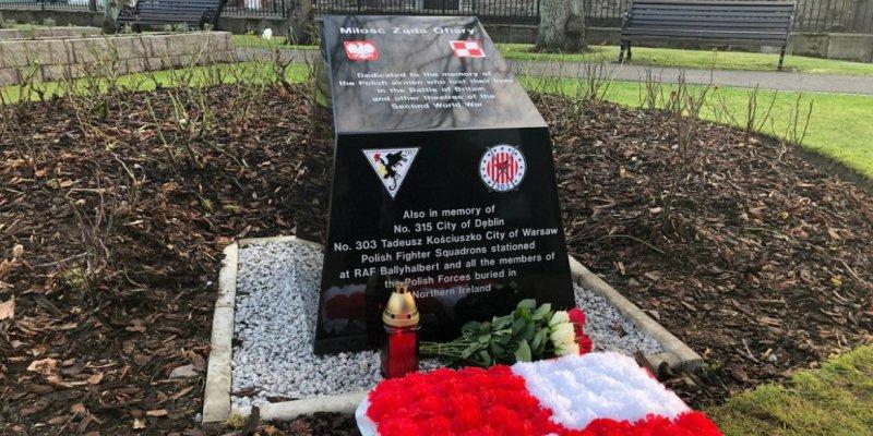Pomnik polskich lotników pod Belfastem