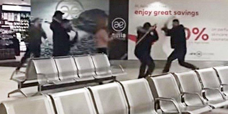 Awantura na lotnisku w Belfaście