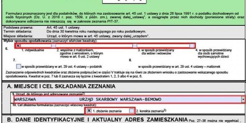 Praca w Irlandii rozliczana w polskim PIT