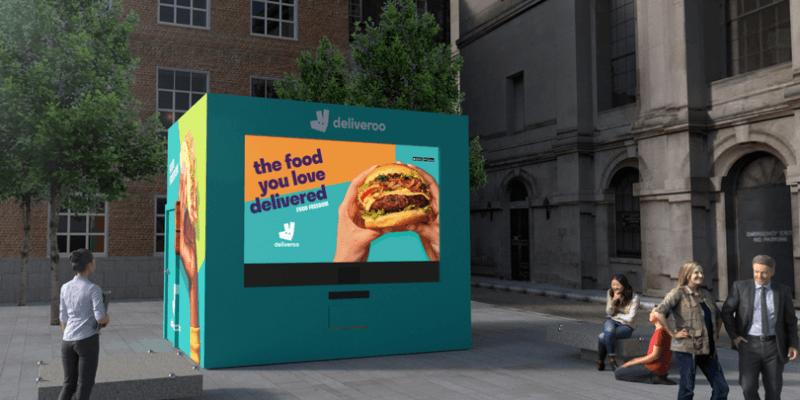 Maszyna do zamawiania jedzenia nakarmi dublińczyków za darmo