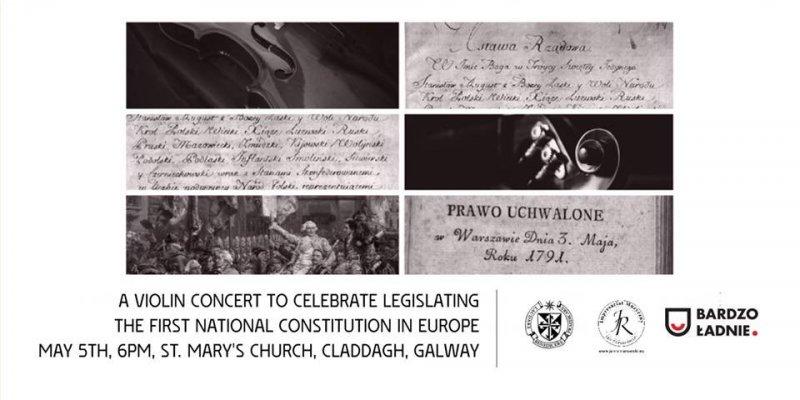 Koncert z okazji uchwalenia Konstytucji 3 Maja w Galway