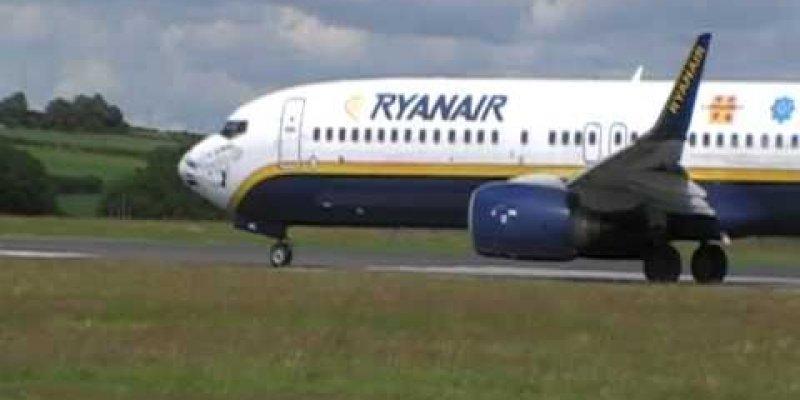 Bójka na pokładzie samolotu z Dublina