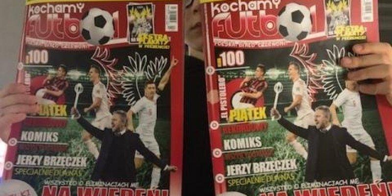 Kochamy Futbol - wspieramy projekt magazynu o reprezentacji Polski