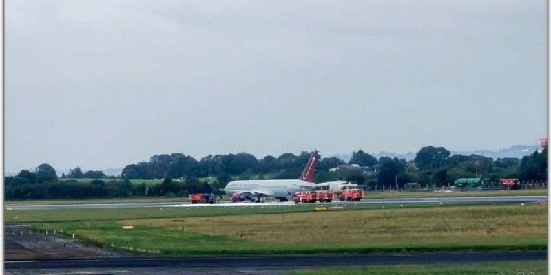 Ogień na lotnisku Shannon